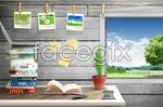 Link toLeisure learning desk psd