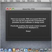 Link toLeopard os x screenshot psd