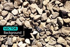 Link toLifelike gravel background vector