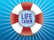 Lifesaver vector free