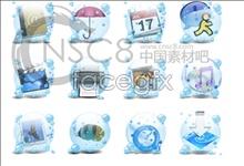 Link toLight blue bubble icon