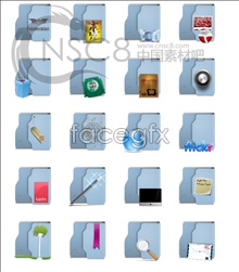 Link toLight blue folder icon