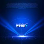 Link toLight effect spotlight background vector