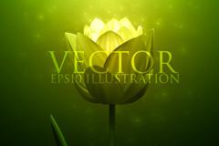 Link toLight floral background vector