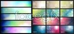 Link toLight gradient banner vector