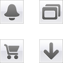 Link toLight grey square icons