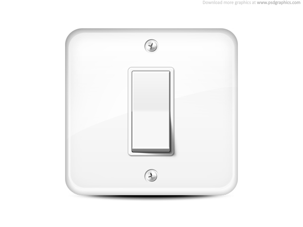 Link toLight switch icon psd