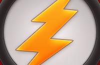 Link toLightning bolt icon psd