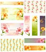 Link toLilium lancifolium banner vector