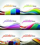 Link toLine color background vector