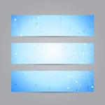 Link toLine decorative banner vector