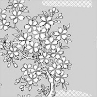 Link toLine drawing of flowers -25