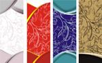Link toLine drawing pattern banner vector