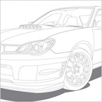 Link toLine drawing vehicle car vector
