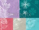 Link toLine flowers vector