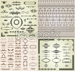 Link toLine pattern lace vector