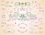 Link toLine release pattern lace vector
