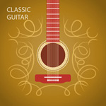 Link toLines guitar background vector