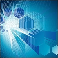 Link toLines of hightech style vector background