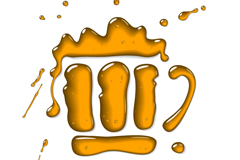 Link toLiquid beer logo vector