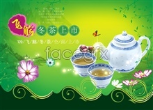 Link topsd posters tea-winter green fresh the on Listed