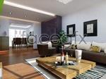 Living room vr model 3d model
