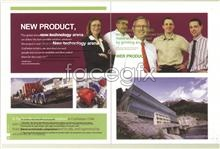 Link toWholly foreign-owned enterprise corporate image brochure templates people truck psd