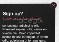 Link toLogin signup web element