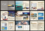 Link toLogistics and transport companies catalogue vector