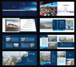 Logistics business book vector