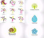 Logo ideas vector
