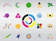 Link toLogo shapes vector free