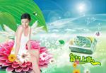 Link toLok sanitary towel poster psd