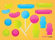 Link toLollipop sweets candy vector free