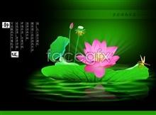 Link toLotus creative design psd free