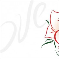 Link toLove and roses vectors