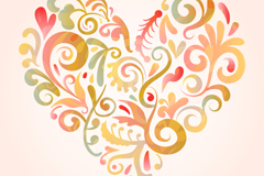 Link toLove beautiful pattern vector