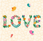 Link toLove flower mix vector