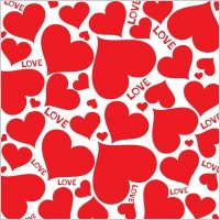 Link toLove hearts vector background