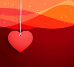 Link toLove ornament background vector