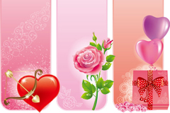 Link toLove rose pack vector background