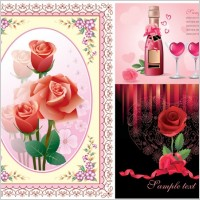 Link toLove roses vector