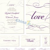 Link toLove the abstract patterns card vector