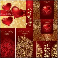 Link toLove the background pattern vector