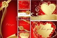 Link toLove the royal card vector