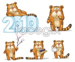 Link toLove tiger vector