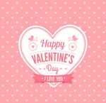Link toLove valentine's day cards vector