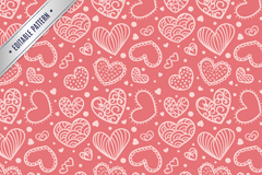Link toLove white seamless background vector