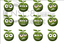 Link toLovely apple emoticons