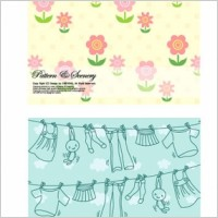 Link toLovely background series vector 2